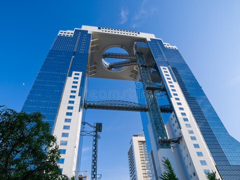 Edificio de oficinas de Osaka fotos de archivo