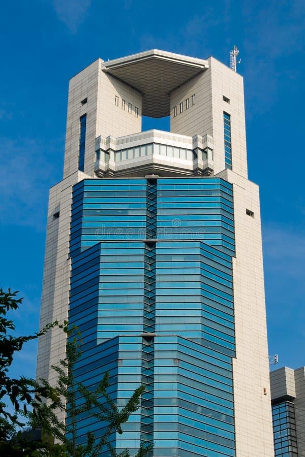 Edificio de oficinas de Osaka fotografía de archivo