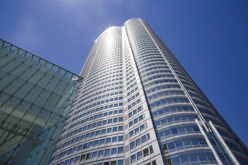 Edificio de oficinas de Tokio Roppongi, Japón fotografía de archivo