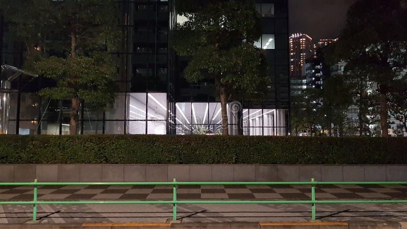 Edificio de oficinas en Minato Tokio fotos de archivo libres de regalías