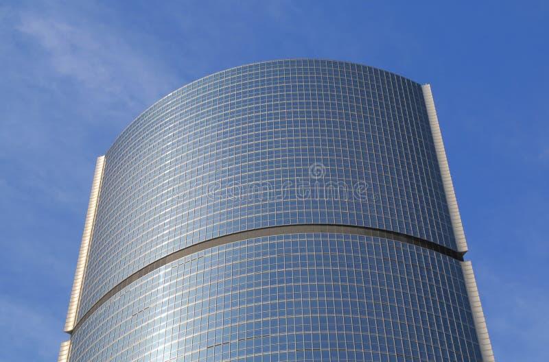 Edificio de oficinas Pekín China de la arquitectura moderna fotos de archivo libres de regalías