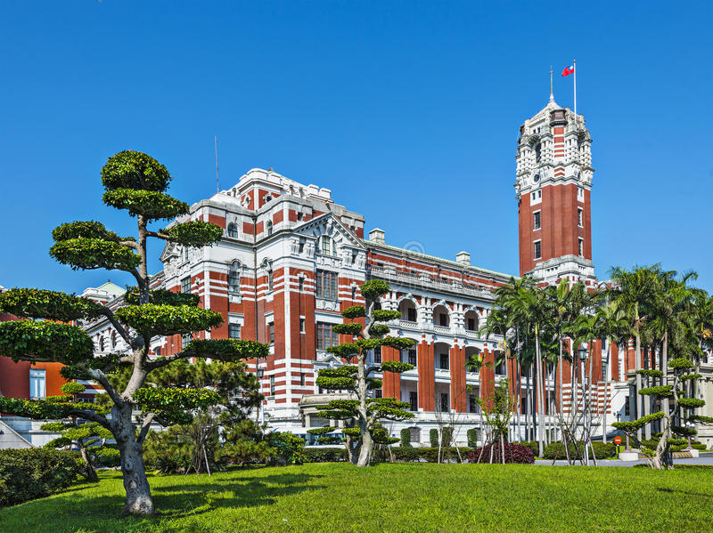 Edificio de oficinas presidencial, Taipei fotografía de archivo