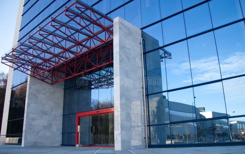 Edificio de oficinas y centro de negocios fotografía de archivo libre de regalías