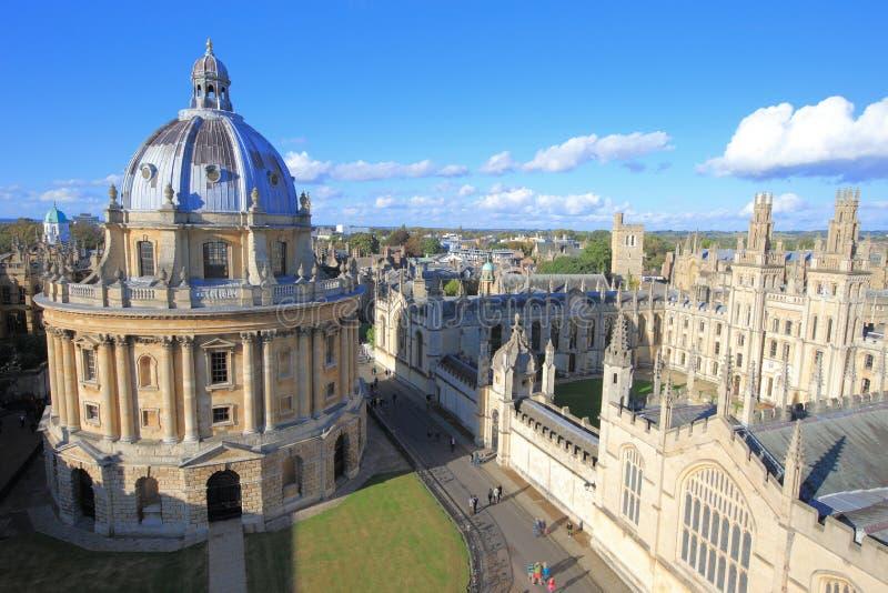 Edificio de Oxford de la belleza foto de archivo
