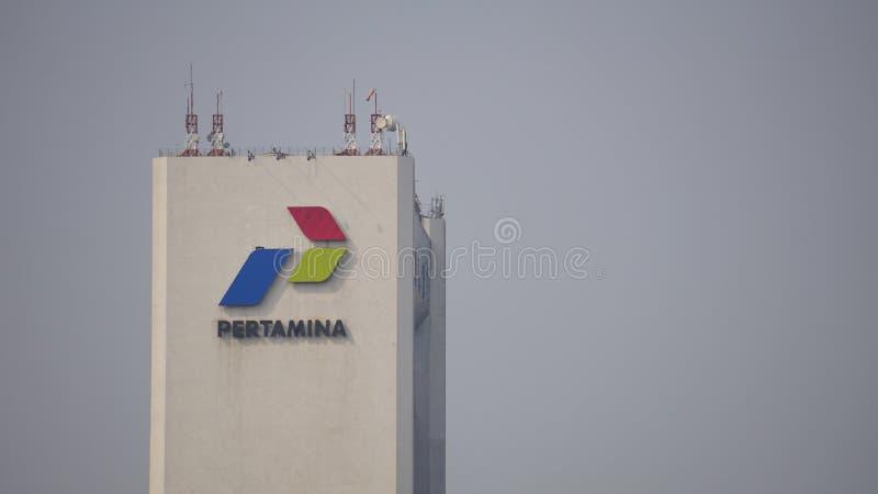 Edificio de Pertamina imagenes de archivo