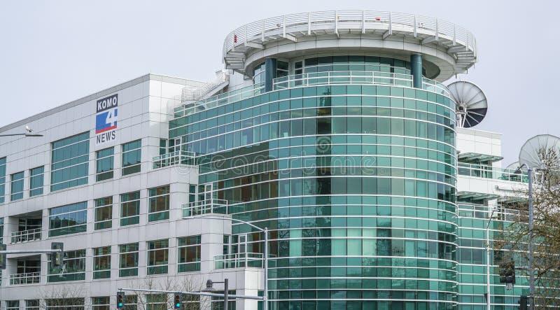Edificio De Plaza Moderno De Komo En Seattle - Conocida De Serie De ...