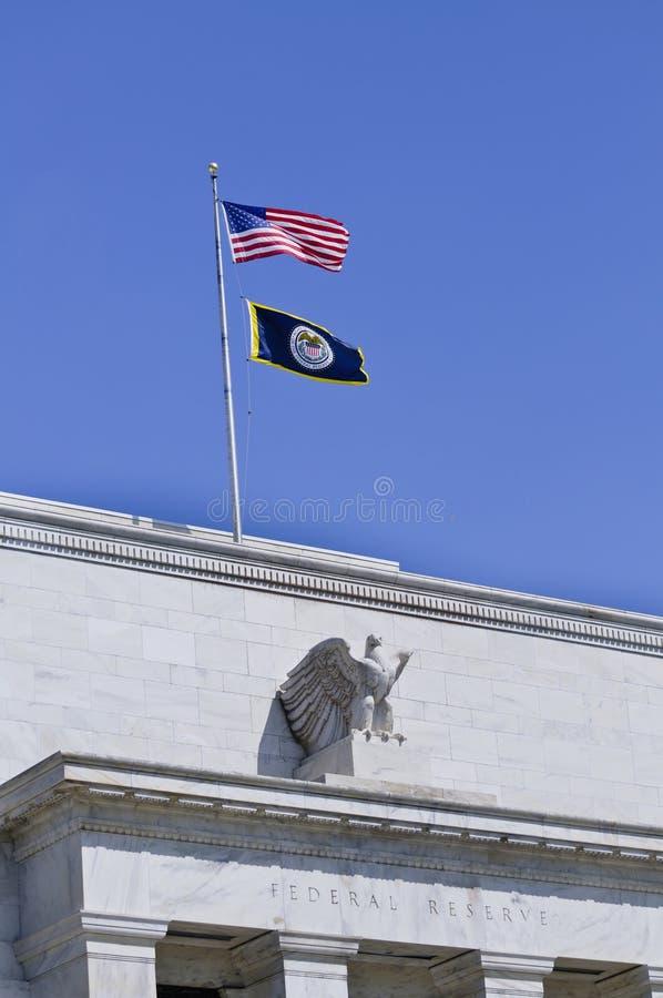 Edificio de reserva federal fotografía de archivo