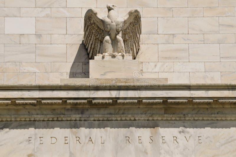 Edificio de reserva federal imágenes de archivo libres de regalías