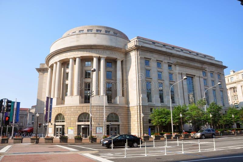 Edificio de Ronald Reagan, Washington DC imagen de archivo libre de regalías