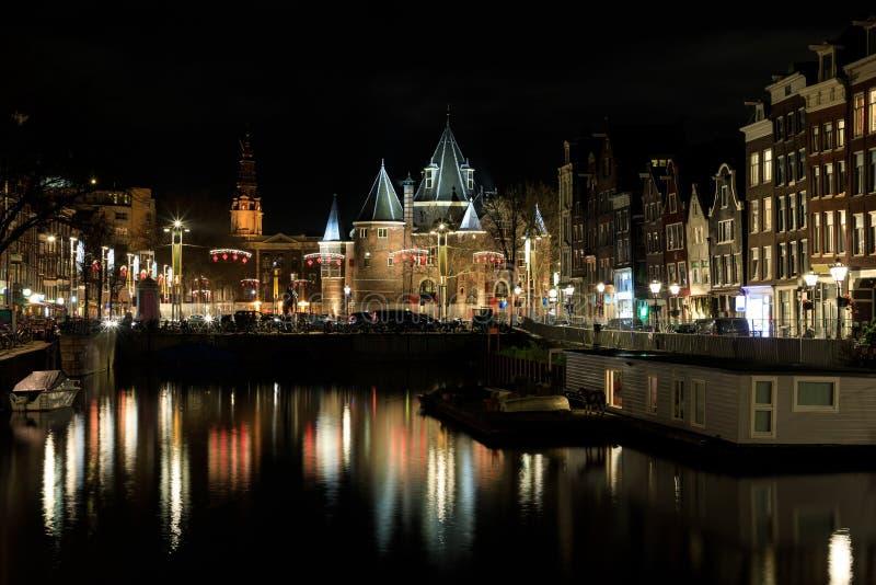 Edificio de De Waag en Amsterdam imagen de archivo