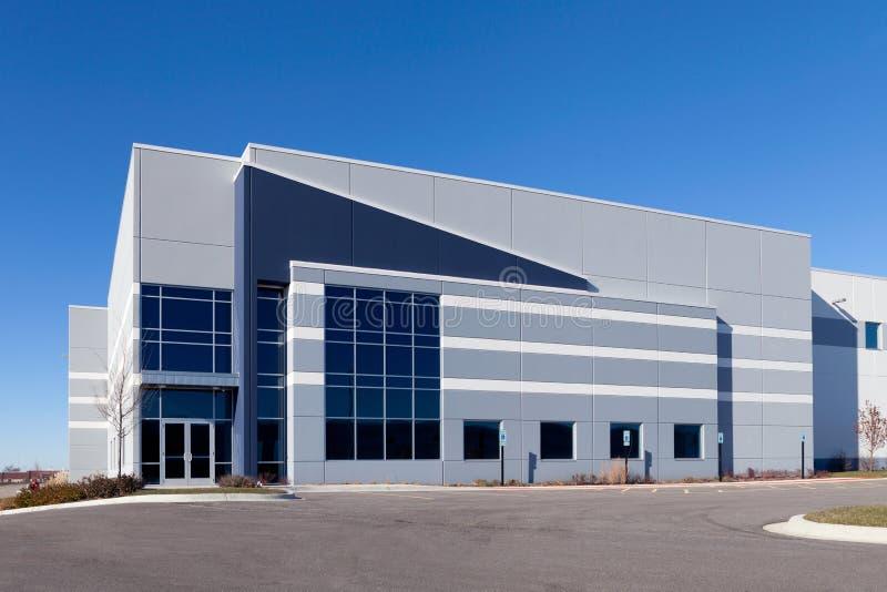 Edificio de Warehouse imágenes de archivo libres de regalías