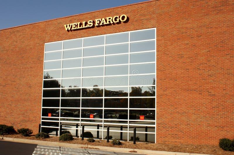Edificio de Wells Fargo imágenes de archivo libres de regalías