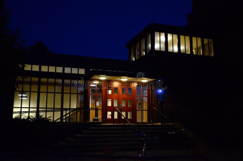 Edificio de Yale Campus imagen de archivo