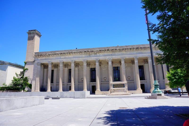 Edificio de Yale Campus fotos de archivo