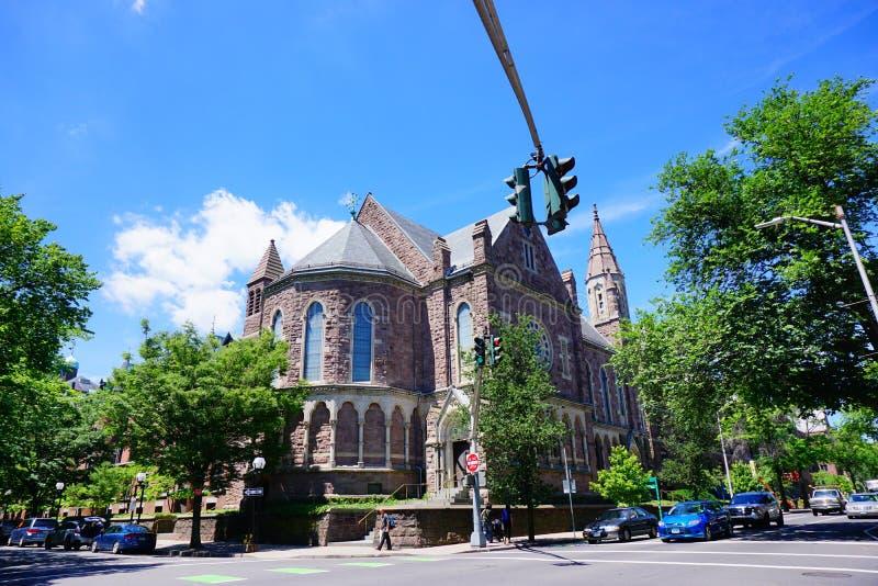 Edificio de Yale Campus fotografía de archivo libre de regalías