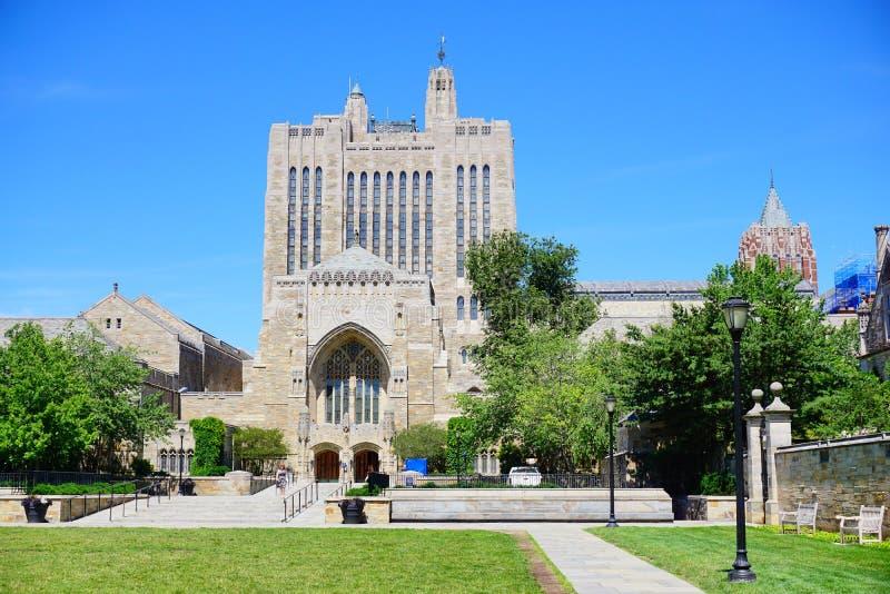 Edificio de Yale Campus imágenes de archivo libres de regalías