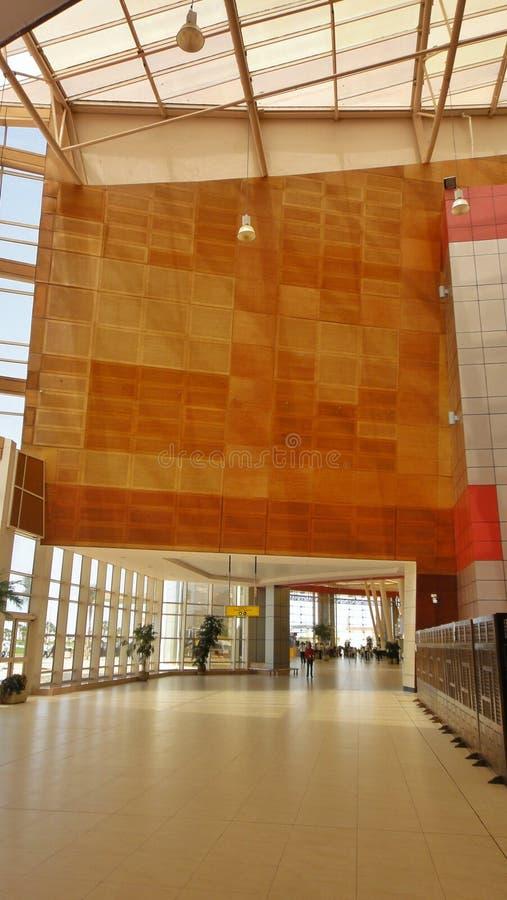 Edificio del aeropuerto imágenes de archivo libres de regalías