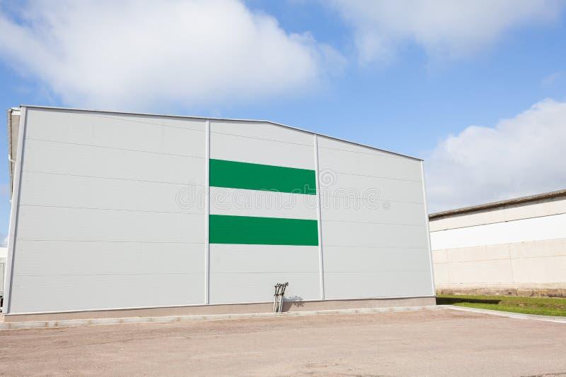 Edificio del almacén imágenes de archivo libres de regalías