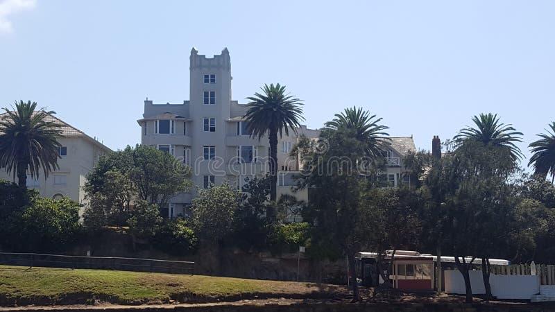 Edificio del art déco en Cremorne, Sydney, NSW, Australia fotografía de archivo
