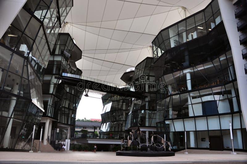 Edificio del arte de Lasalle fotografía de archivo