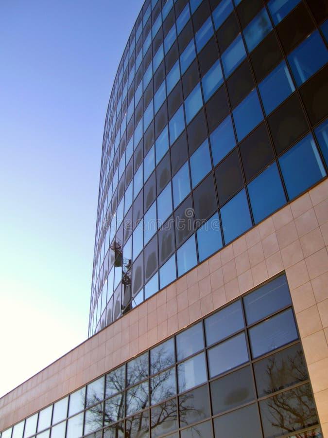 Edificio del asunto fotografía de archivo libre de regalías