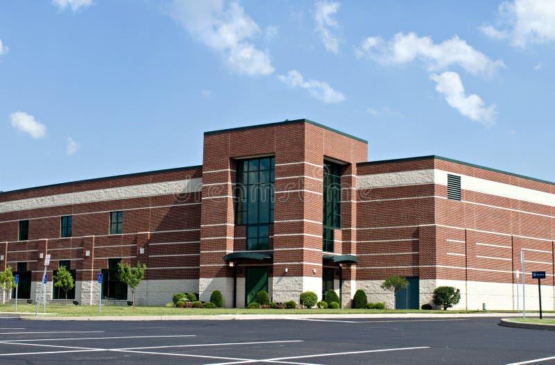 Edificio del asunto del ladrillo fotos de archivo libres de regalías