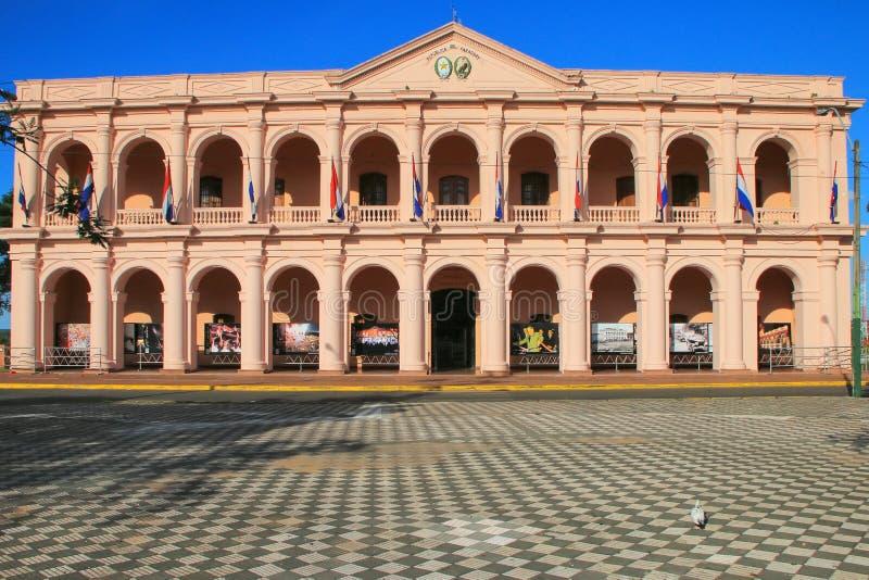 Edificio del ayuntamiento (Cabildo) en Asuncion, Paraguay imagen de archivo