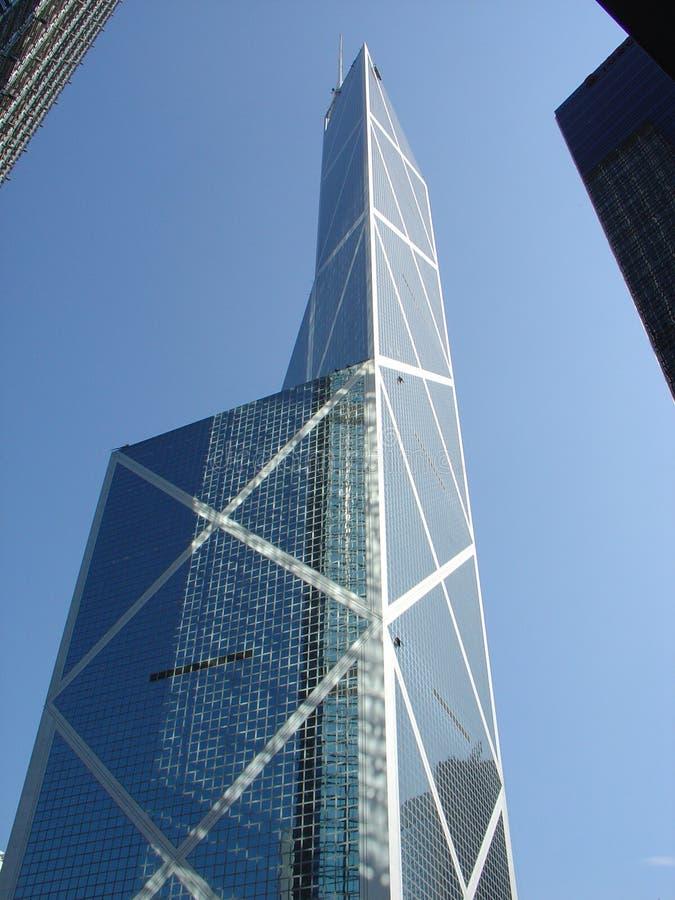 Edificio del Banco de China, Hong-Kong fotografía de archivo libre de regalías