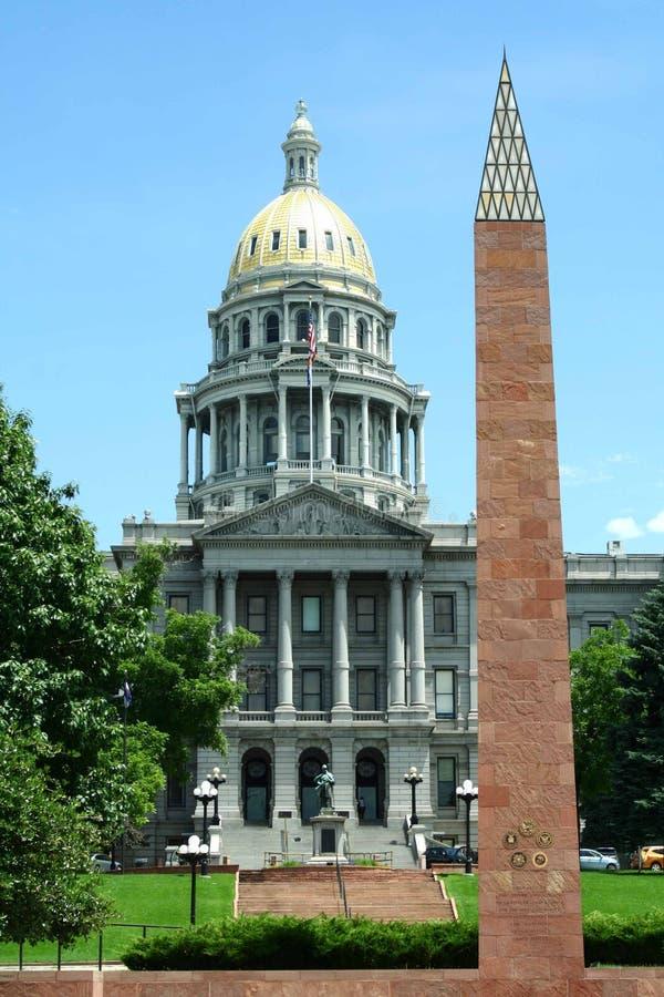 Edificio del capitolio de Denver fotos de archivo