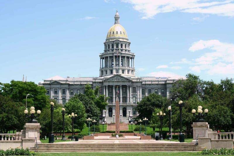 Edificio del capitolio de Denver imagen de archivo libre de regalías