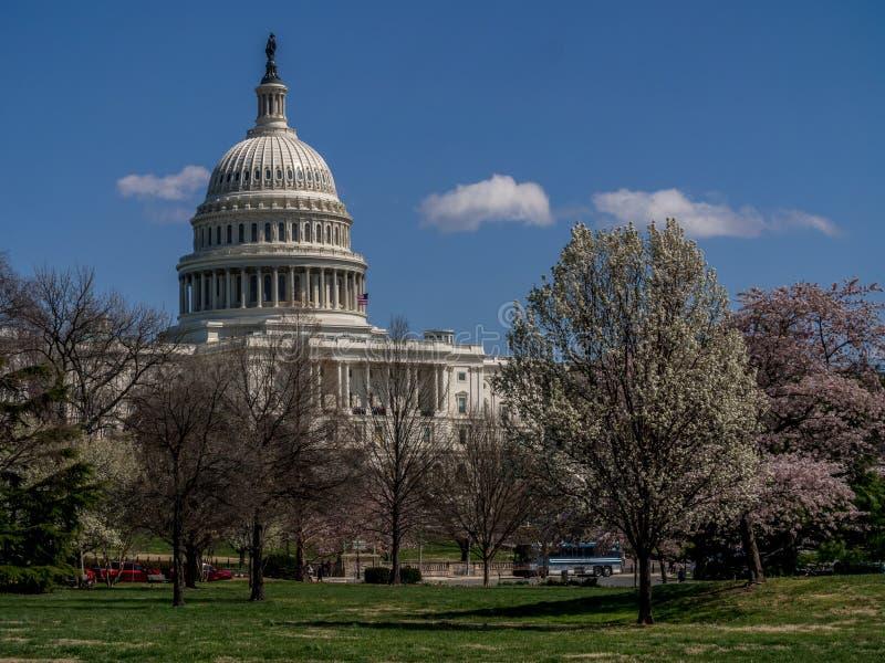 Edificio del capitolio de Estados Unidos - Washington D C , los E foto de archivo libre de regalías