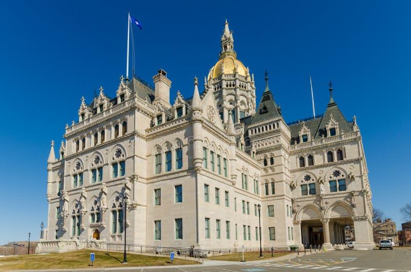 Edificio del capitolio de Hartford Connecticut fotografía de archivo