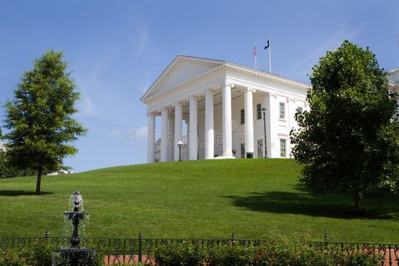 Edificio del capitolio de Virginia imagen de archivo libre de regalías