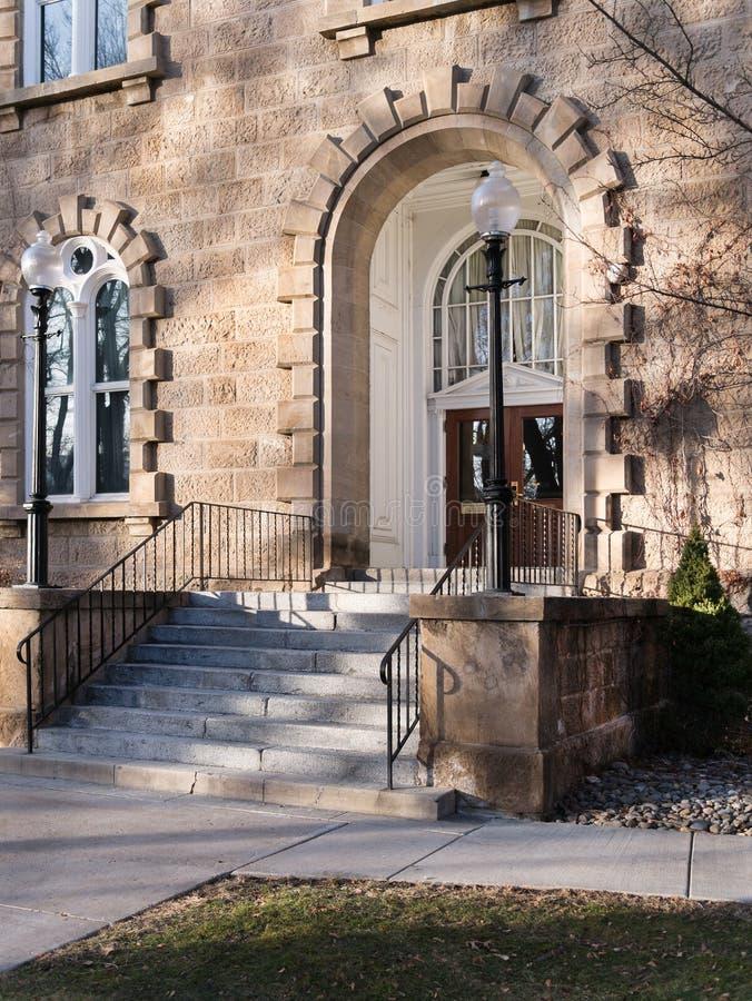 Edificio del capitolio del estado, Carson City, Nevada fotografía de archivo libre de regalías