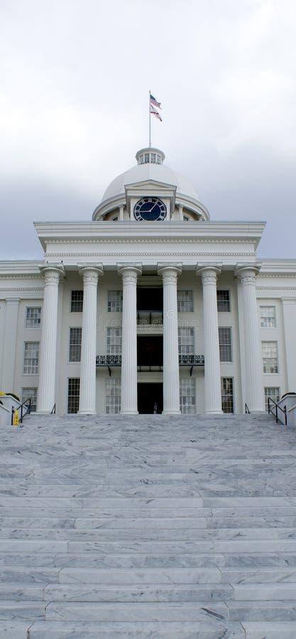 Edificio del capitolio del estado de Alabama foto de archivo libre de regalías