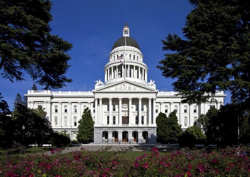 Edificio del capitolio del estado de California fotos de archivo