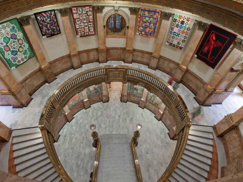 Edificio del capitolio del estado de Colorado imágenes de archivo libres de regalías