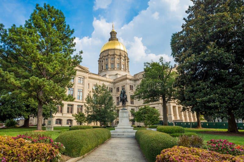 Edificio del capitolio del estado de Georgia en Atlanta, Georgia fotos de archivo