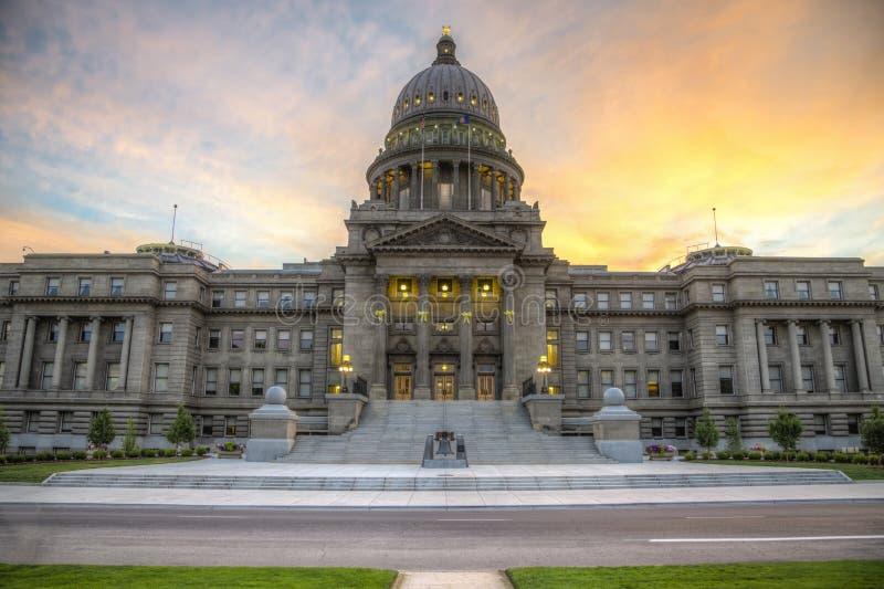 Edificio del capitolio del estado de Idaho imagenes de archivo