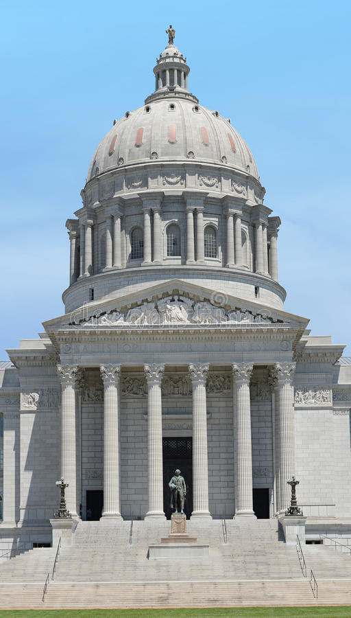Edificio del capitolio del estado de Missouri foto de archivo
