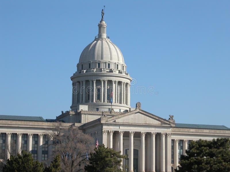 Edificio del capitolio del estado de Oklahoma fotografía de archivo