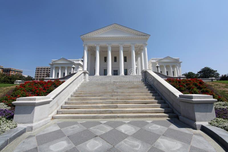 Edificio del capitolio del estado de Virginia imágenes de archivo libres de regalías