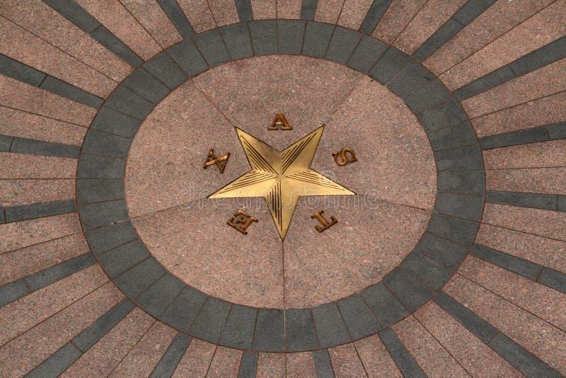 Edificio del capitolio del estado en Austin céntrica, Tejas imagen de archivo libre de regalías
