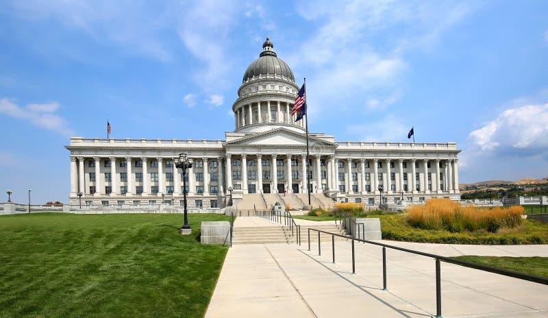 Edificio del capitolio del estado en Salt Lake City, Utah, los E.E.U.U. foto de archivo
