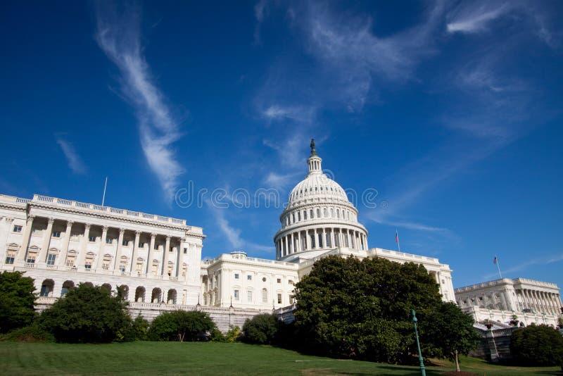 Edificio del capitolio, Washington DC fotografía de archivo libre de regalías