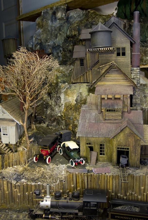 Edificio del carbón en el acantilado fotografía de archivo libre de regalías