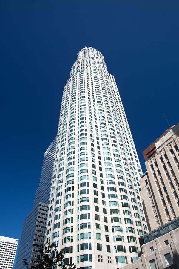 Edificio del centro di Los Angeles fotografie stock