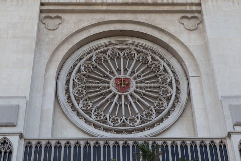 Edificio del CL en la universidad de la asunción, Tailandia fotos de archivo