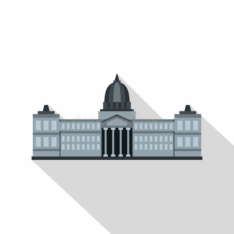 Edificio del congreso nacional, icono de la Argentina libre illustration