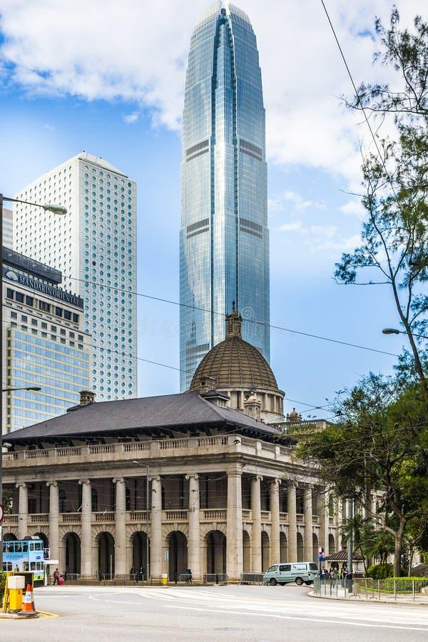 Edificio del Consejo Legislativo de HONG-KONG en Hong Kong imágenes de archivo libres de regalías